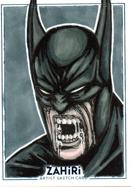 Batman : Zahiri Sketch Card art by Emre Varlıbaş