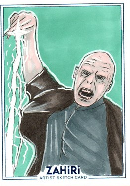 Lord Voldemort : Zahiri Sketch Card art by Emre Varlıbaş