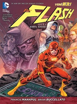 THE FLASH CİLT 3 : Goril Savaşı